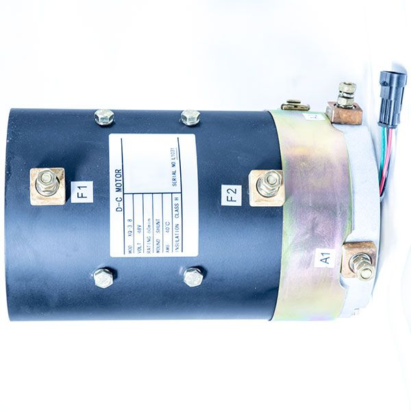 Dc Sepex Motor Xq 3 8 48v 3 8kw Other Voltage Options Available Traction Motor Dc Motor Golf Carts