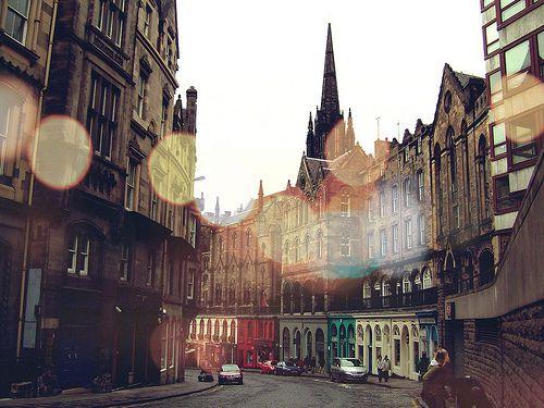 Old Town, Edinburgh, Scotland  photo via besttravelphotos