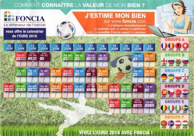 distribution de prospectus FONCIA pendant l'EURO 2016