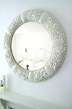 Brabourne Farm: Love .... Shell Mirrors
