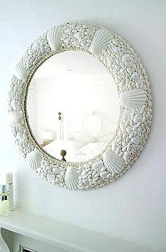 Brabourne Farm: Love .... Shell Mirrors