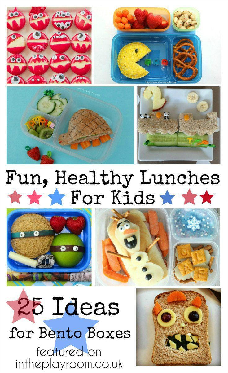 Fun and Healthy Lunch Ideas for Kids and the Mon Bento Lunch Box - In The Playroom