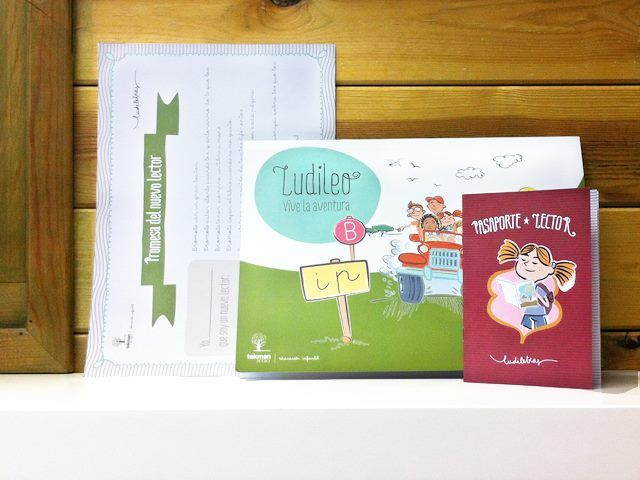 Ludileo y pasaporte lector: actividades de lectoescritura para alumnos de P5