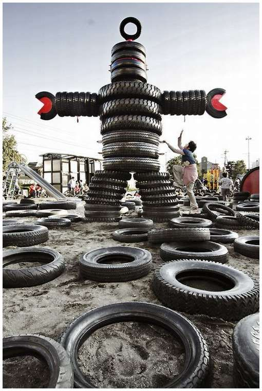 Tire obstacle courses?