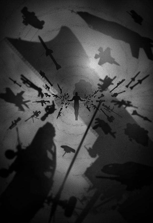 Marko Manev is back with more great noir-style movie art