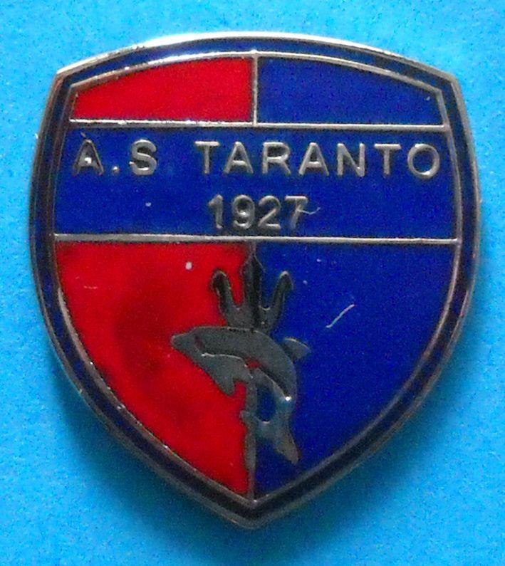 DISTINTIVO SPILLA PIN CALCIO - A.S. TARANTO CALCIO - cod. 502