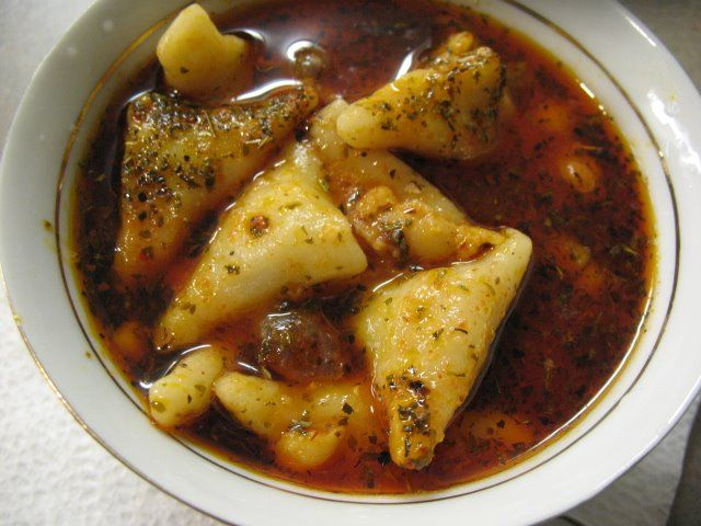 Tatar Soup This ravioli like soup is one of the most famous soups and also main dishes in my Hometown Adana/ Turkey. It is hard to prepare since you need to roll a thin dough and cut them into tiny…