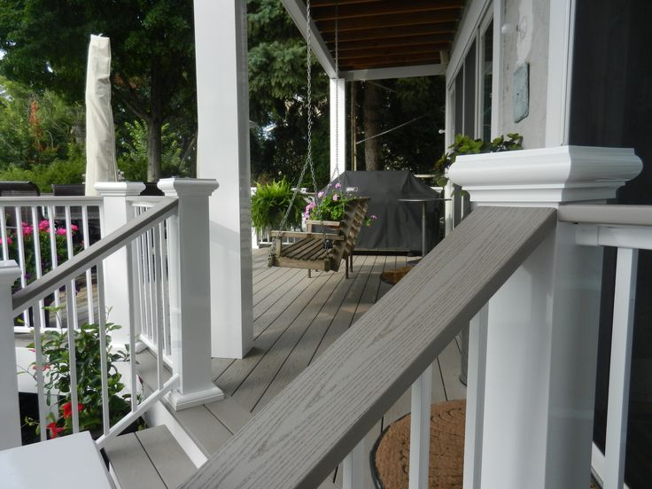 how to clean aluminum deck railing
