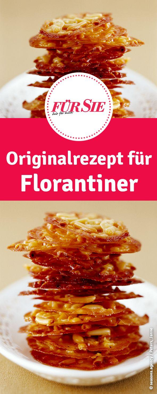 Originalrezept für Florantiner Plätzchen zu Weihnachten