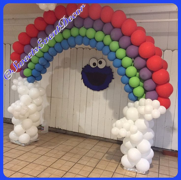 Cookie Monster Theme Party Decor