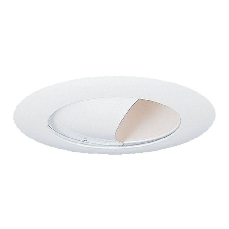 null Wall Wash 6 in. White Recessed Trim