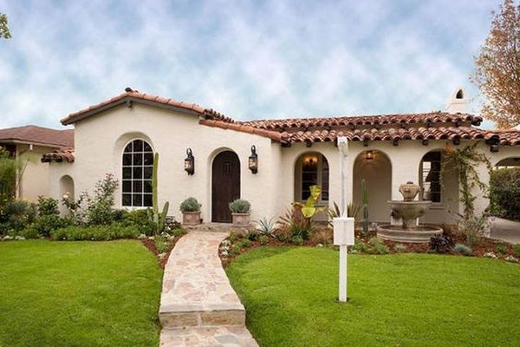 Stunning Mission Revival And Spanish Colonial Revival Architecture Ideas 23