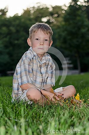 Contemplative Boy - Download From Over 35 Million High Quality Stock Photos, Images, Vectors. Sign up for FREE today. Image: 58675732