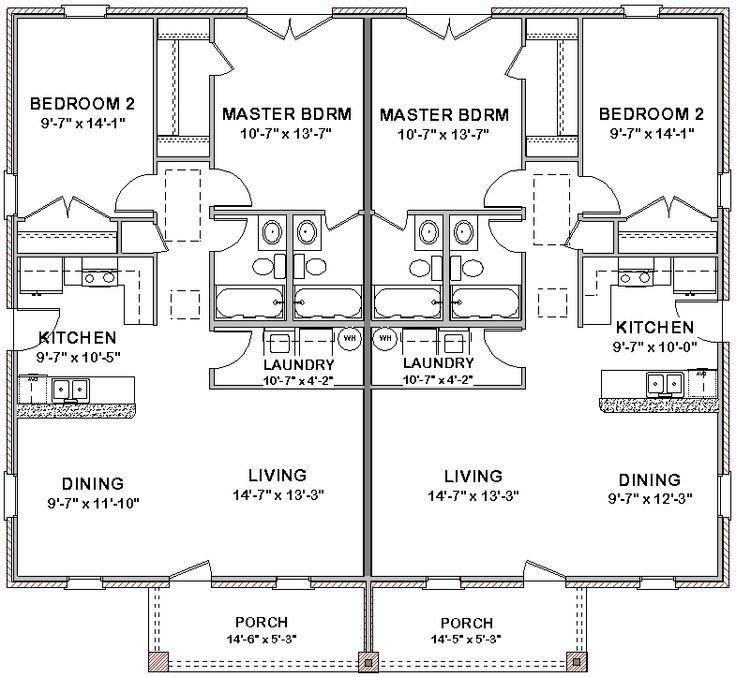 House Floor Plans 3 Bedroom 2 Bath Story Best Bedroom 2017 Plan Apartmentfloorplans House Floor Plan Duplex Floor Plans Cottage Floor Plans Duplex House Plans