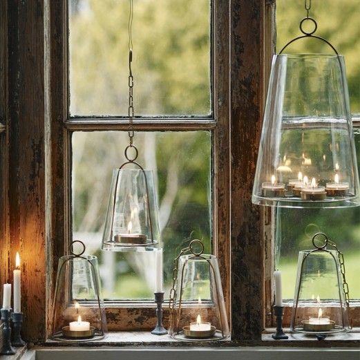 Hanging Brass Sky Lantern