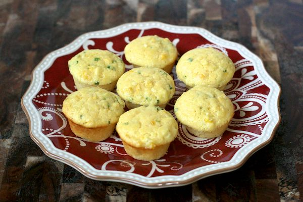 Buttermilk corn muffins.  Made for Thanksgiving apps--subbed Greek yogurt for the sour cream, and vinegar + milk for the buttermilk (but ran out of milk!!!!!! Happened to have a little powdered milk, blech) and added a diced jalapeño.
