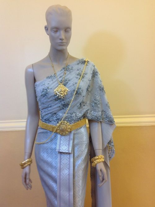 Thailand  costume, thai traditional clothing , national dress of thailand