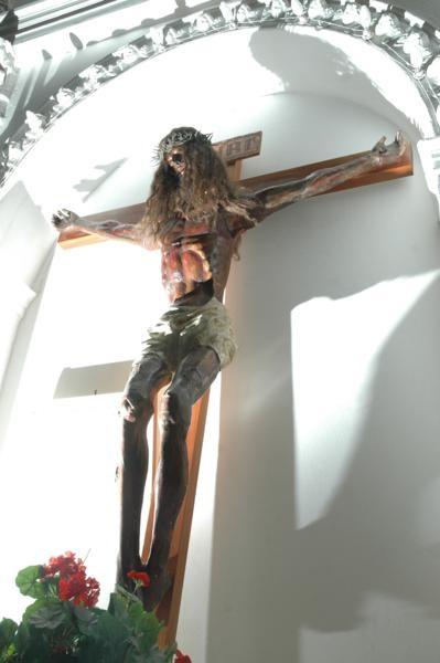 Cristo Negro, Iglesia de Jáchal. Más info en www.facebook.com/viajaportupais
