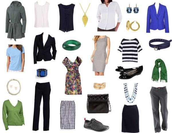 Month Long Business Trip capsule wardrobe [good ideas for choosing multi-purpose tech fabrics]