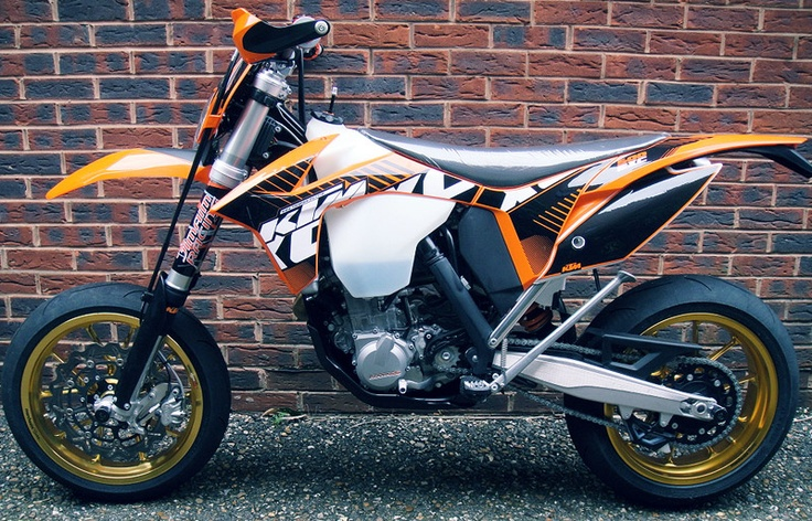 2012 KTM EXC 500 Motard - Dual sport bike made into a street bike. Tires can be switched to go back to dirt.