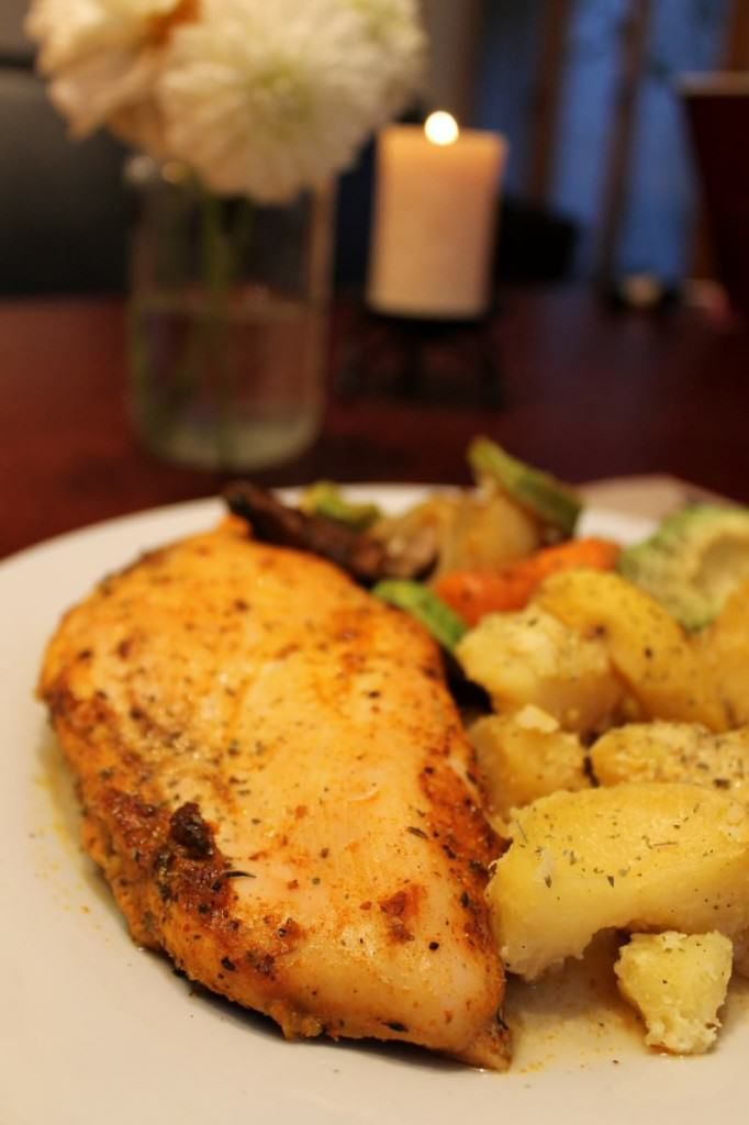 how to cook chicken breast in oven healthy