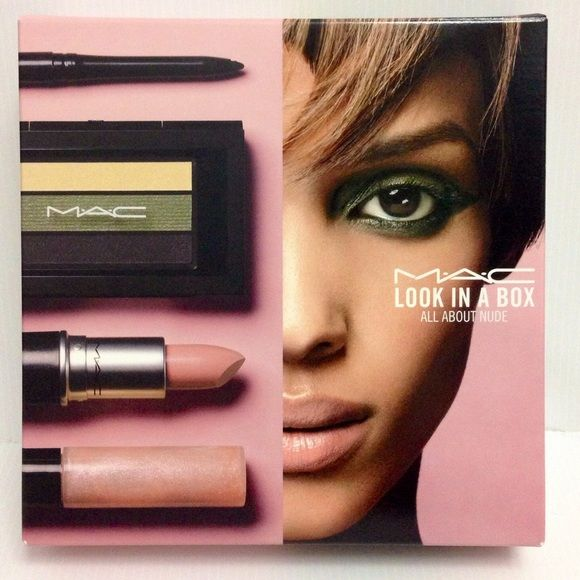 MAC Look in a Box All About Nude MAC Look in a Box All About Nude NEW MAC Cosmetics Makeup