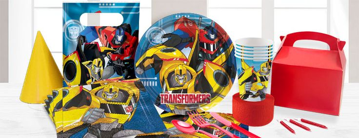 Party delights Transformers Party Supplies