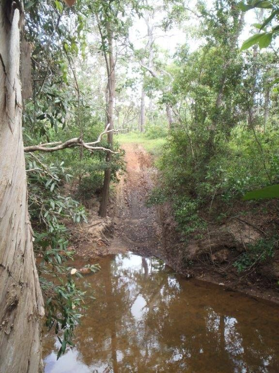 Crossings of the Old Telegraph Track (OTT) in its current state - off the Beaten track indeed!