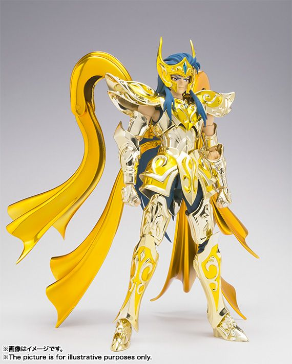 Mechanical Japan: Saint Seiya: Soul of Gold - Camus de Acuario Armadura Divina Myth Cloth EX (Bandai)