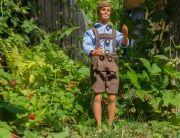 Schnittmuster für Ken: Lederhose mit Karohemd