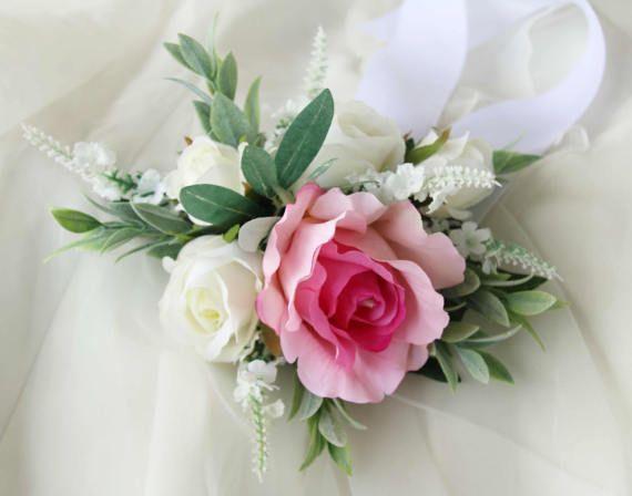 Wrist Corsage, Bridesmaid Corsage, Mothers Corsage, Silk Flower Corsage, Artificial Corsage, Wedding Corsage, School Formal / Prom Corsage