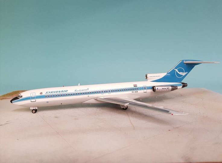 Inflight 200 Boeing 727-200 Syrian Air YK-AGA Ref: IF7220415 #Inflight200