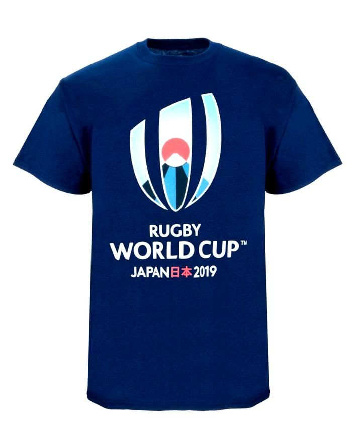 Rugby World Cup 2019 Kids Large Logo T Shirt White Rugby World Cup Rugby World Cup
