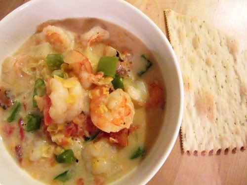 Cajun Shrimp and Corn Bisque | Cajun Shrimp-and-Corn Bisque - Network Model Videos - Articles - The ...