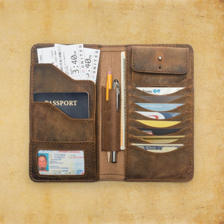 Big Leather Wallet – Leather Case Wallet | Saddleback Leather Co.
