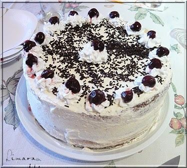 Limara péksége: Fekete-erdő torta