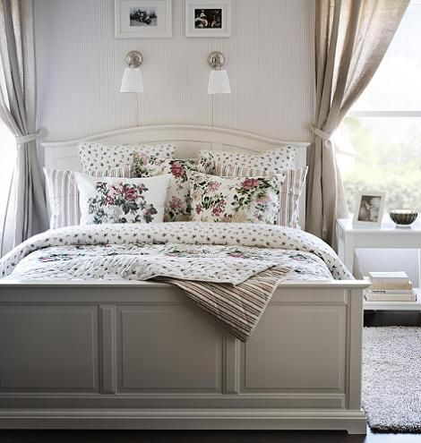 Want this bed!! Ikea birkeland.