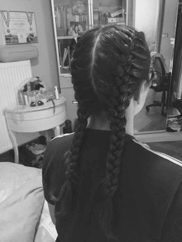 Double French braids for my sister  •Dbraids•