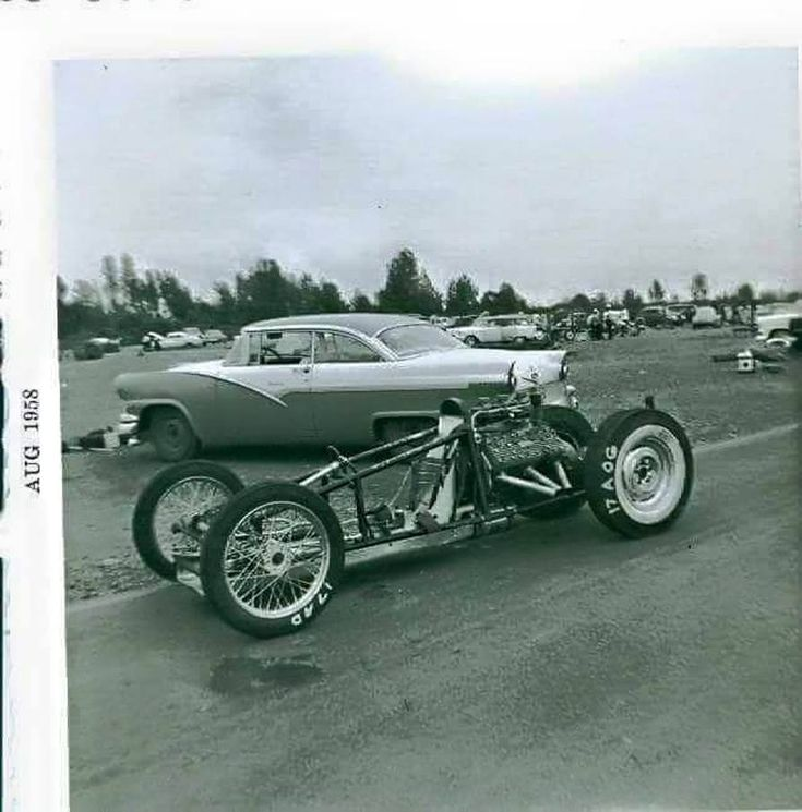 Vintage Race Car >> Vintage Drag Racing - 1958 | Garlits | Pinterest | Engine, Cars and Vintage race car