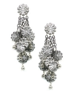 aquaskye: The Trend is Maxi, Jewellery by Karen shoulder duster earrings.  Details: http://jewellerybykaren.com/boutique/earrings/earrings-885e