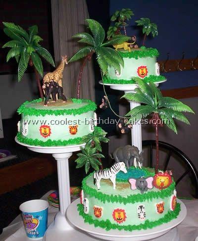jungle cake idea