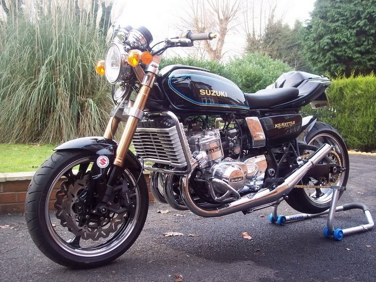 suzuki gt 750 and some extras moto inspiration pinterest. Black Bedroom Furniture Sets. Home Design Ideas