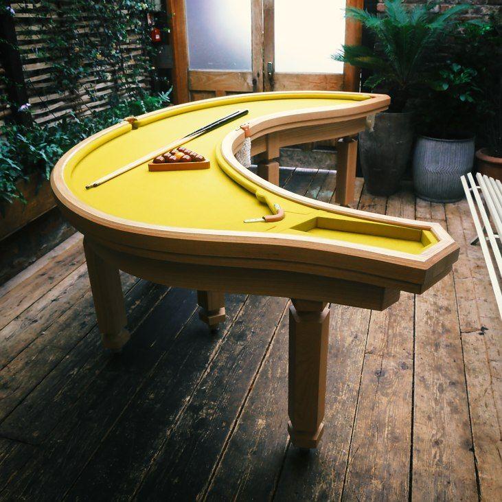 Banana Pool Table From Firebox.com