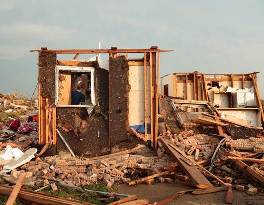 Oklahoma Tornado Levels Towns Get prepared with food and water @ FoodStorageDepot.com