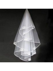 Short Wedding Veil 010