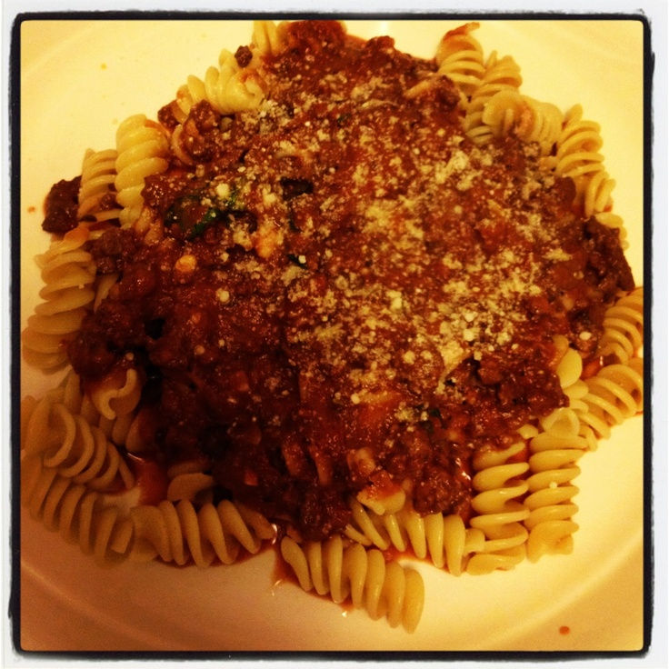 Weeknight bolognese- barefoot contessa recipe- easy and delicious!