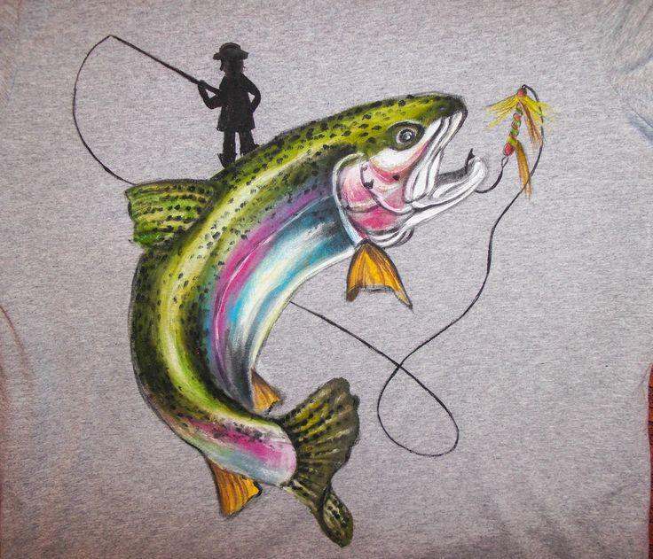 Иногда хочется порадовать мужчин, которые занимаются каким-то горячо любимым хобби, которое приносит им бесконечное удовольствие, а еще иногда хочется запечатлеть именно ту рыбу, которую они поймали. Тут тот самый случай! Прекрасный подарок рыбаку в виде футболки с ручной росписью по настоящему будет оценен :) Проверьте сами! Ваш рыбак оценить по достоинству! Аналогичная работа 1790 руб. ( белая, серая). 7-911-924-39-14 Звоните, заказывайте. belkastyle.ru #футболка #дизайн…