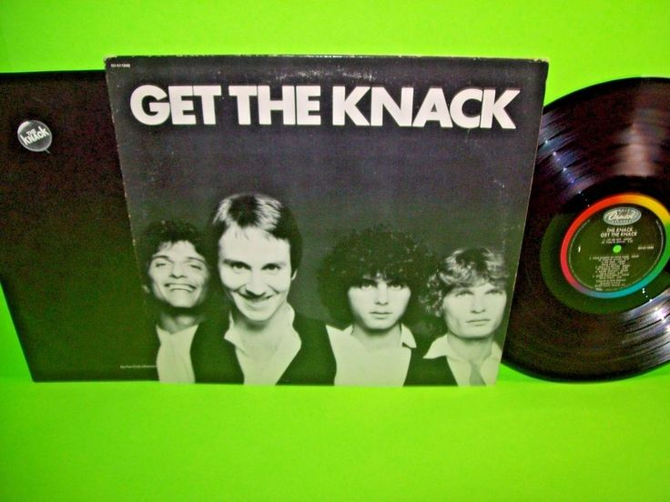 The Knack - Get The Knack 1979 Vinyl LP Record My Sharona Power Pop New Wave CRC #1980sNewWavePopRock