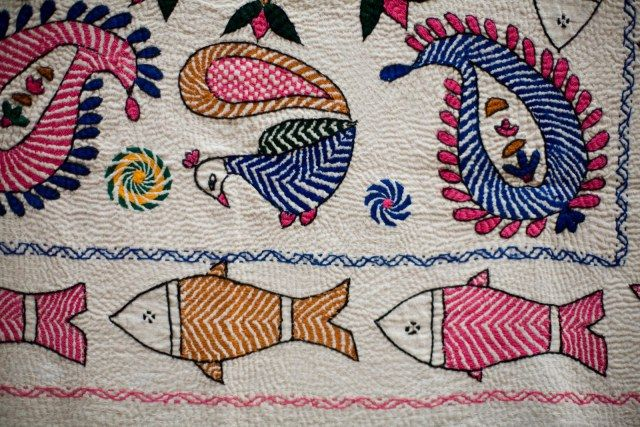 Kantha- Traditional Embroidery