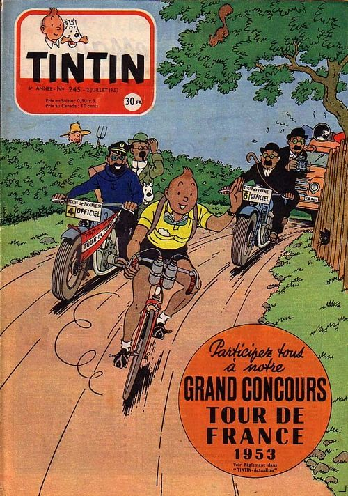 Tin Tin does the tour, ha! Can it get any better then that....